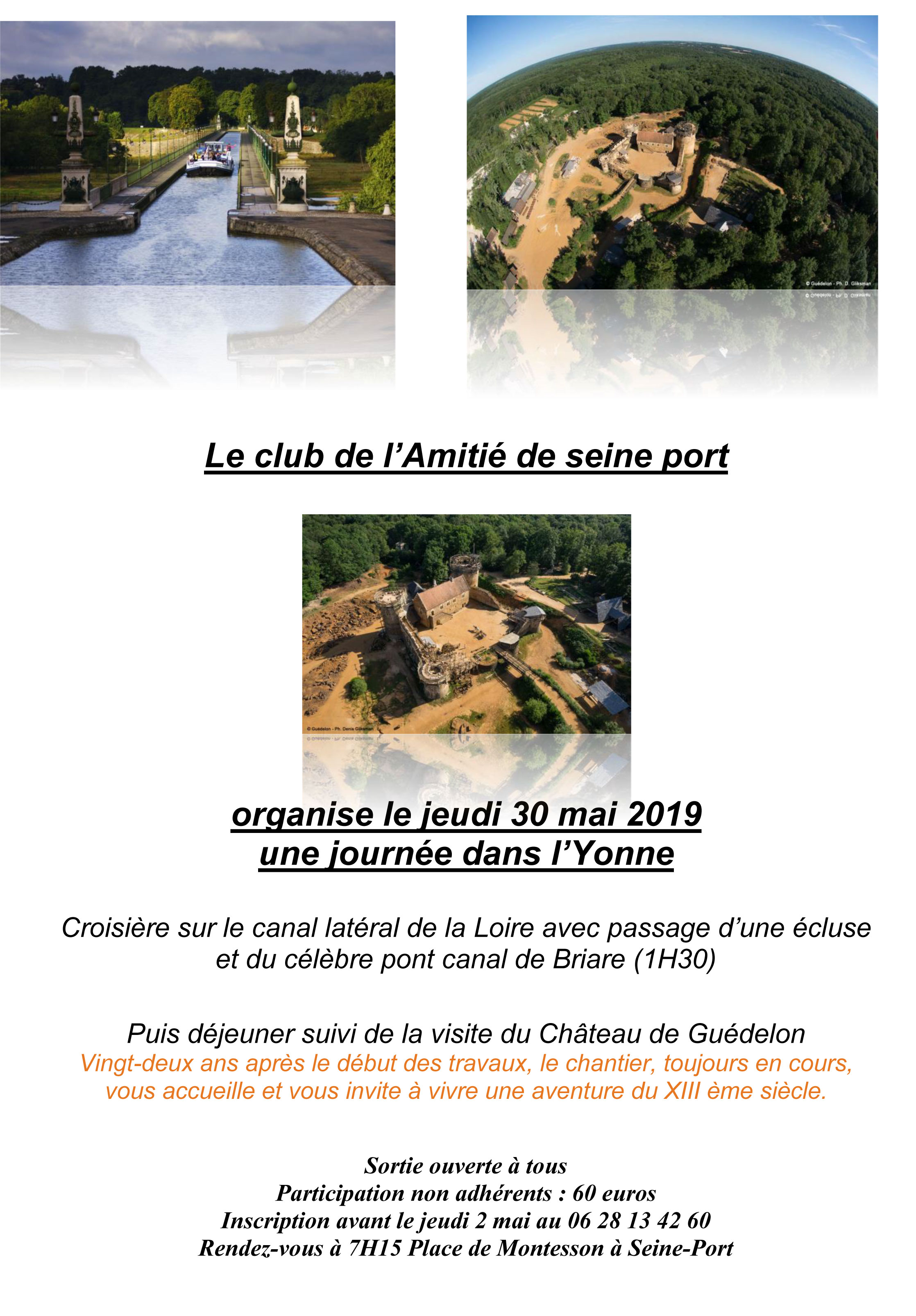 Affiche guedelon word 1