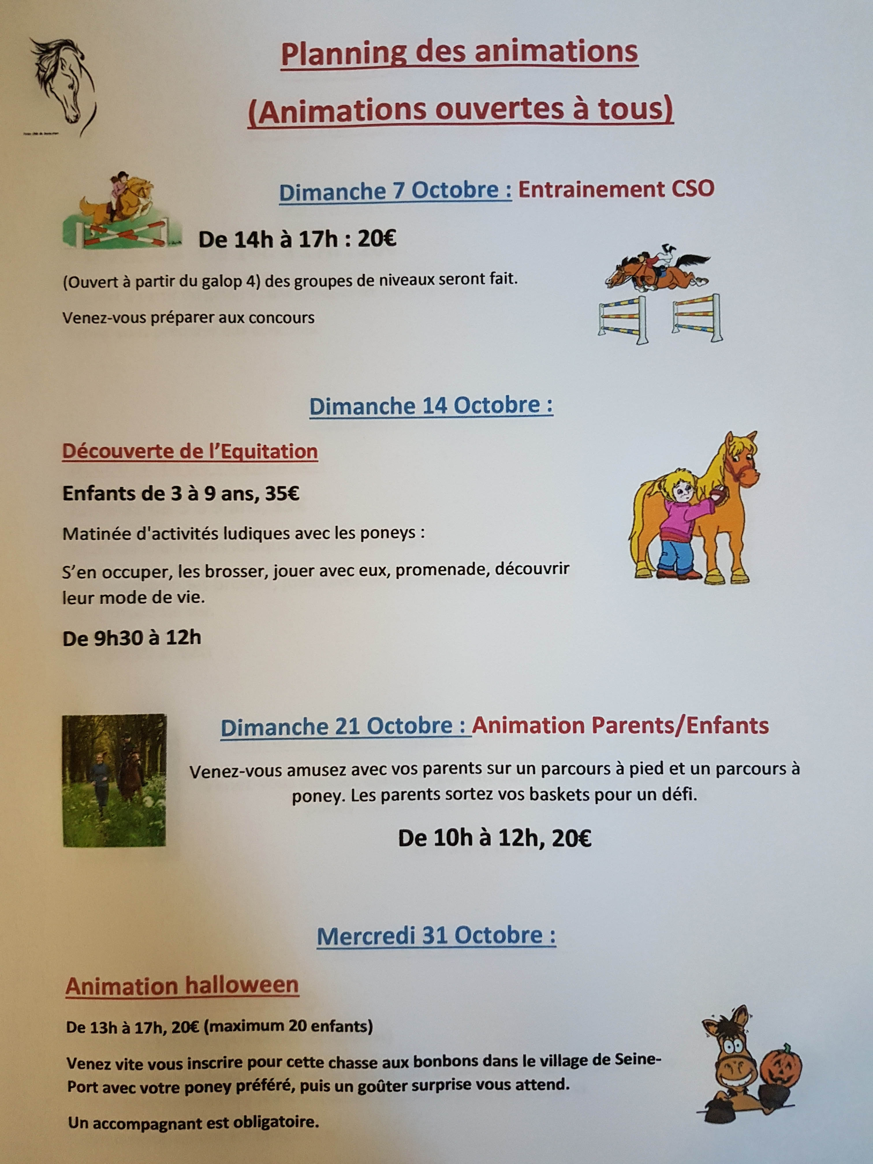 poney octobre 18